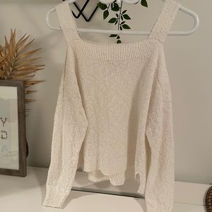 Lucky Brand Off The Shoulder Sweater